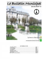 Bulletin municipal 15 – Janvier 2016